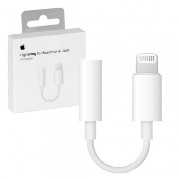 Adapter Lightning auf 3,5mm Audio Apple MMX62ZM/A weiß