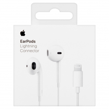 Original Apple Earpods Kopfhörer Headset iPhone Lightning MMTN2AM Detail Handyshop Linz MobileWorld