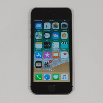 Apple iPhone SE 16GB Space Gray A1-Simlock neuwertig!