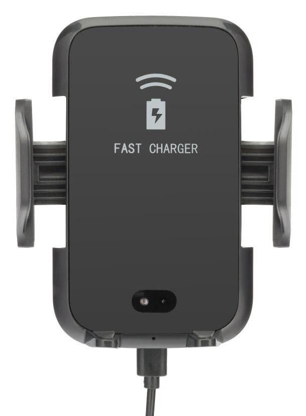 Auto Halterung, Qi kabellos, Fast Charge, automatische Öffnung