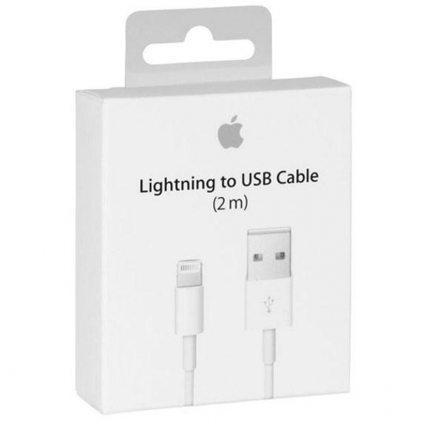Apple Lightning Ladekabel 2 Meter MD819ZM/A Box Handy Shop Linz MobileWorld kaufen